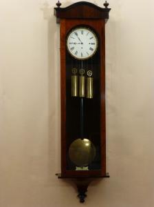 3 Weight Rosewood Grande Sonnerie Regulator Antique Triple