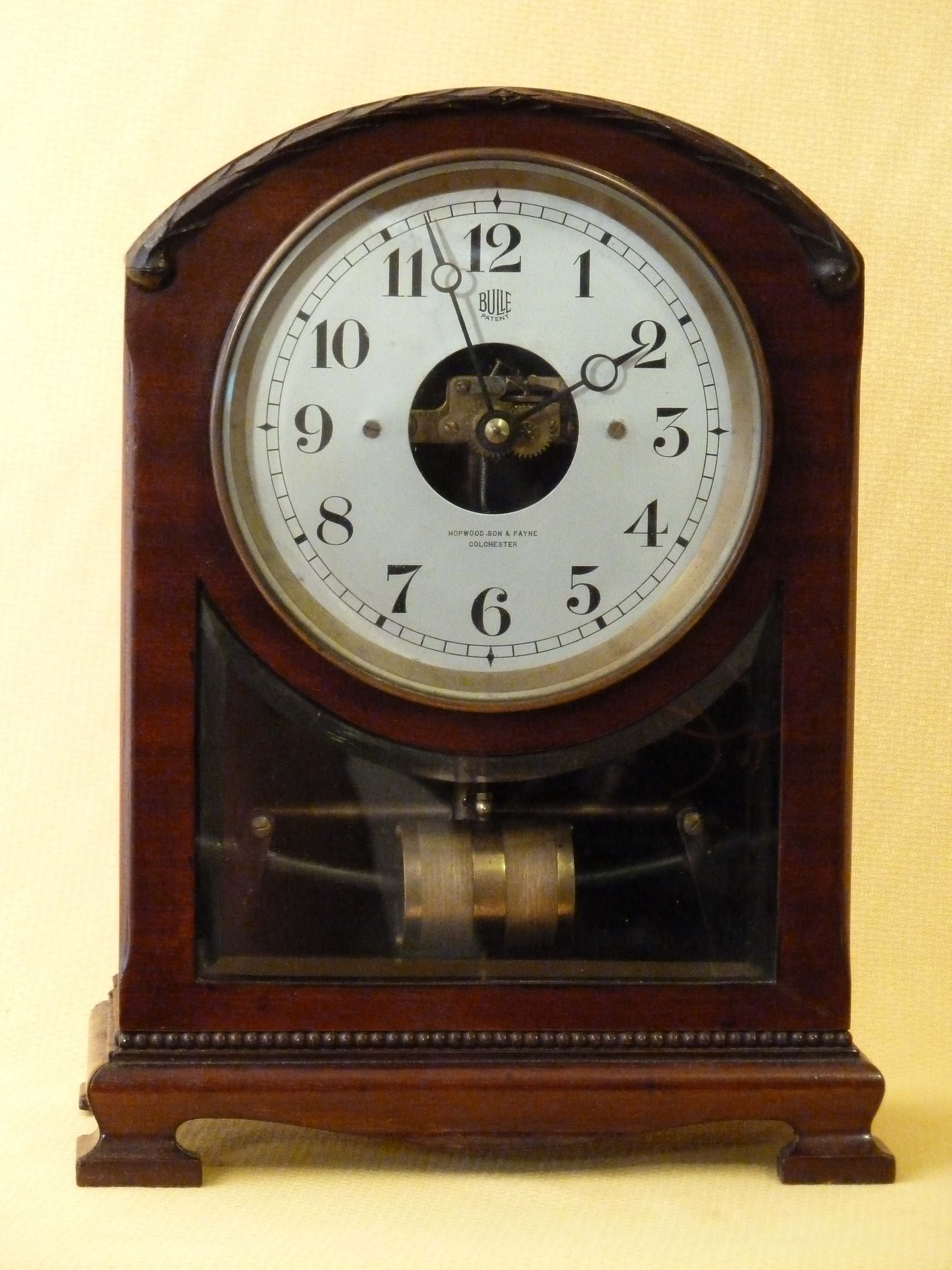 Antique Mantel Clocks >> Bulle clock | Art Deco & Art Nouveau Electric clock | Battery Clock