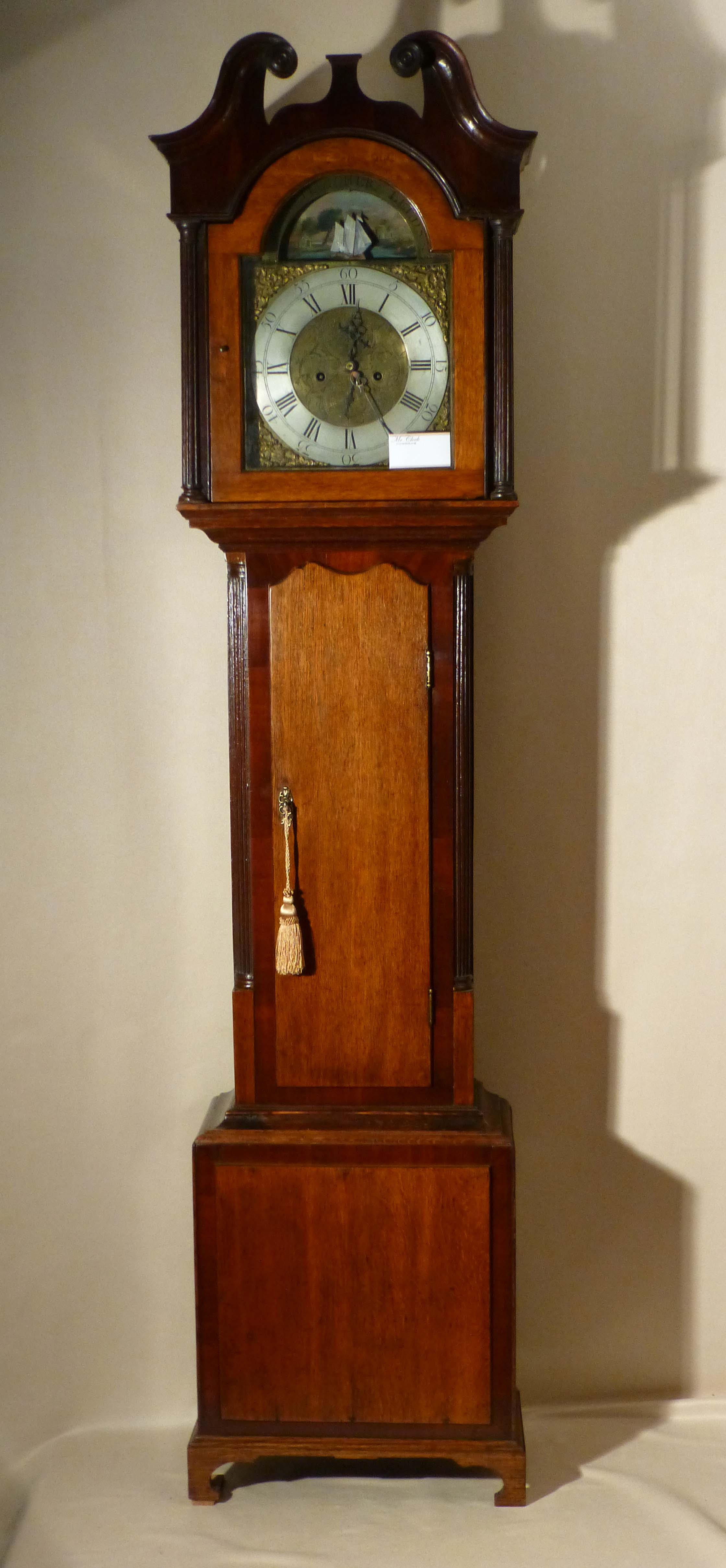 Antique Longcase Clock Grandfather Clock Old Long Clock