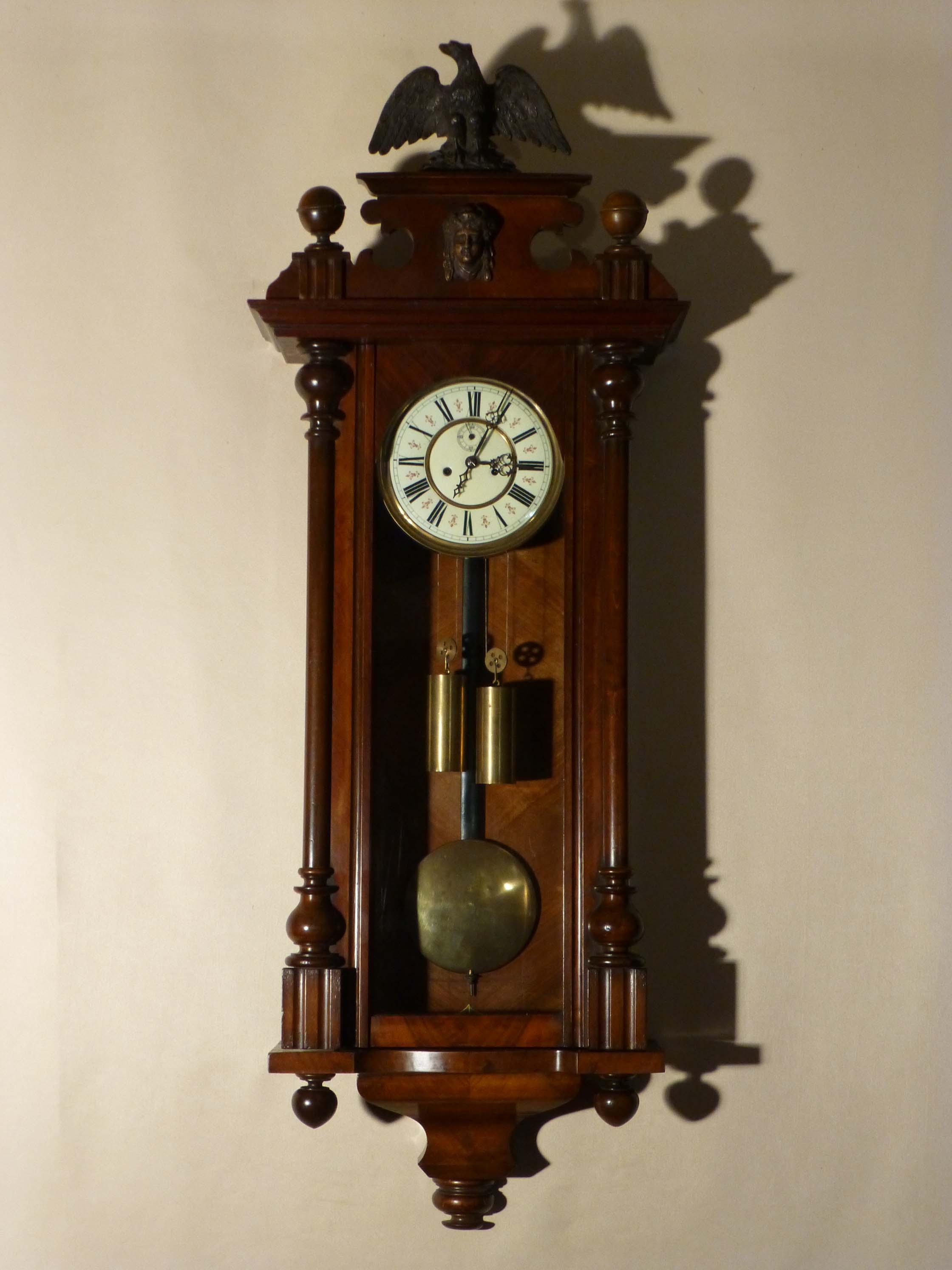 Antique Vienna Regulator Antique Vienna Wall Clock Regulator