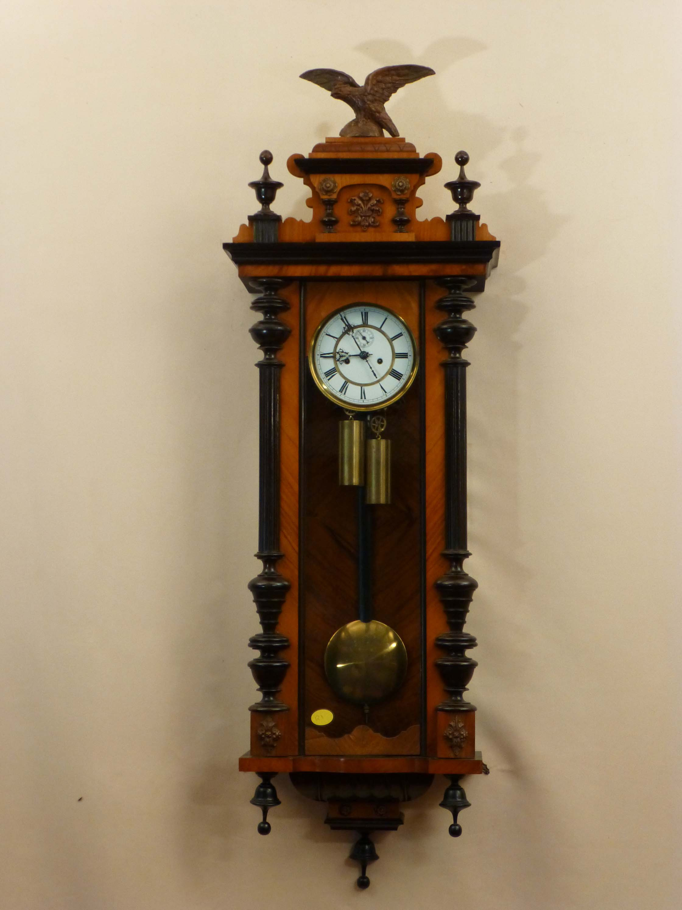 antique vienna regulator clock old victorian clocks