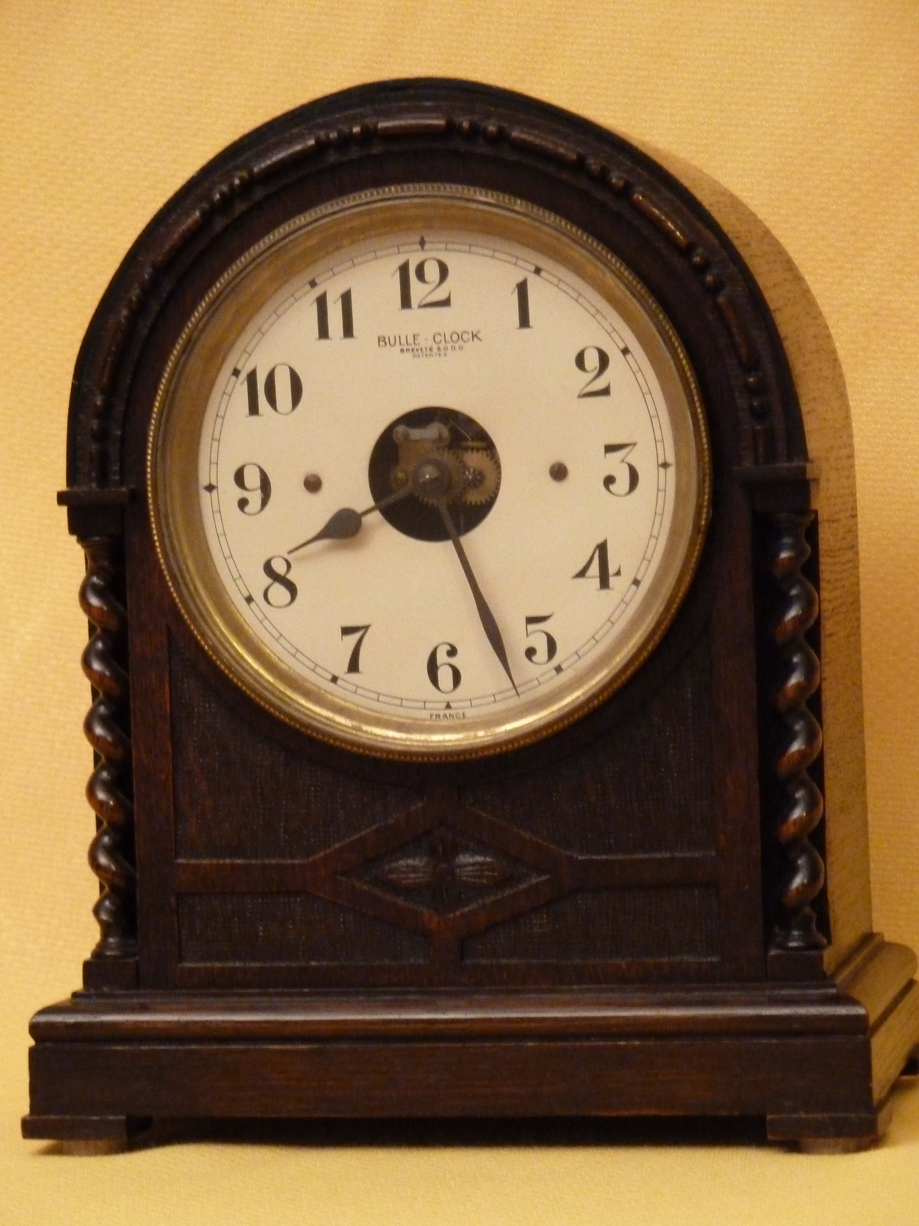 Electric Clock Mantel Clock Shelf Clock Antique Clock